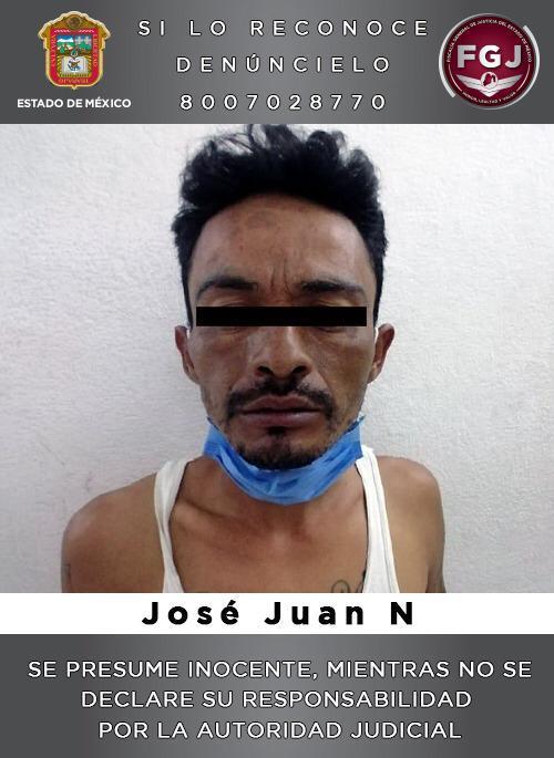 Detienen en Ecatepec a sujeto investigado por un asalto con violencia