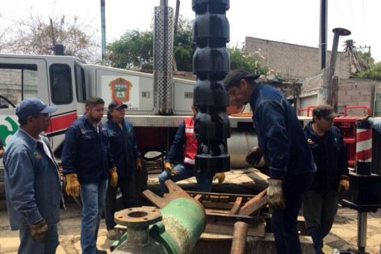 Aumenta suministro de agua potable a Nezahualcóyotl con puesta en operación de un pozo