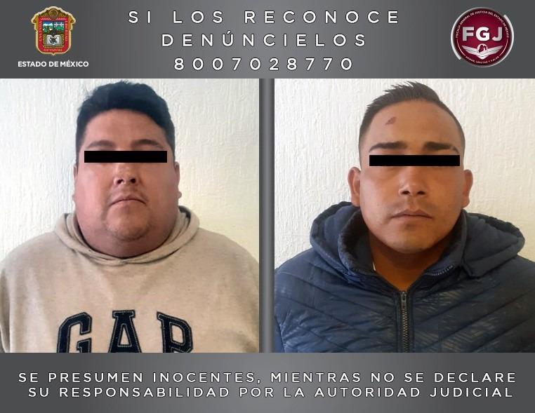 Procesan a dos sujetos por el delito de extorsión en Ixtapaluca