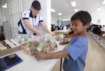 Celebró Cruz Roja Mexicana el Día del Niño con quienes viven en pobreza extrema