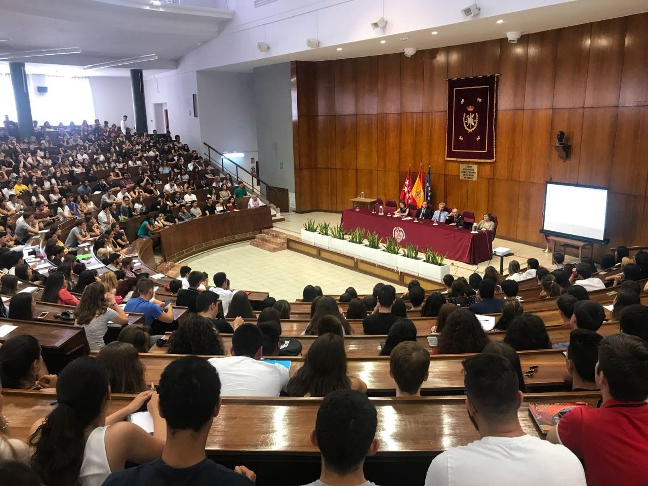 México visto por los estudiantes de Madrid desde la Complutense