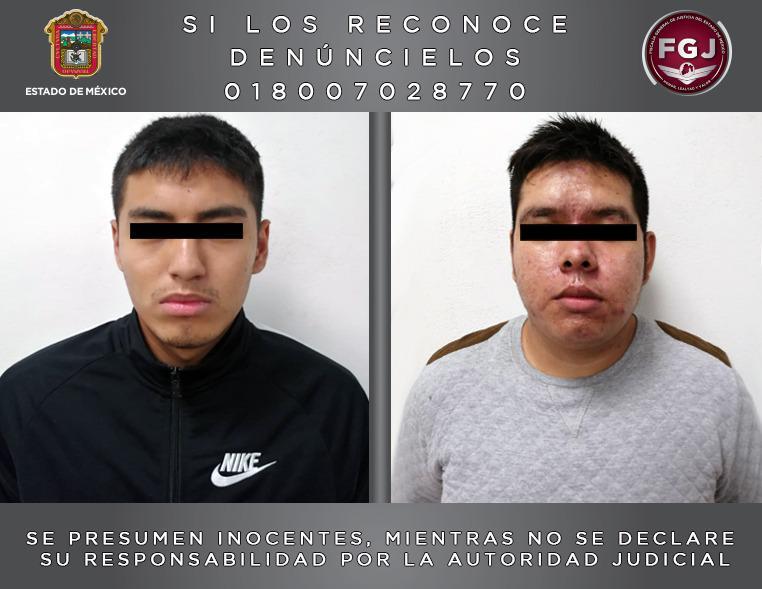 Detiene FGJEM a dos sujetos investigados por el secuestro de dos hermanos en Metepec