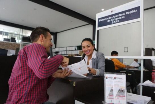 Continúa ágil y eficaz proceso de apertura rápida de empresas en Metepec: Gaby Gamboa