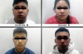 Detienen en Chimalhuacán a cuatro probables homicidas
