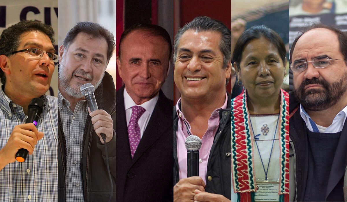 Los candidatos independientes bajo el estigma de Caín y en la antinomia
