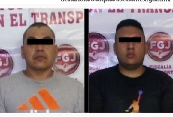 Secretaría de seguridad recupera dos vehículos con reporte de robo y detiene a probables responsables del ilícito
