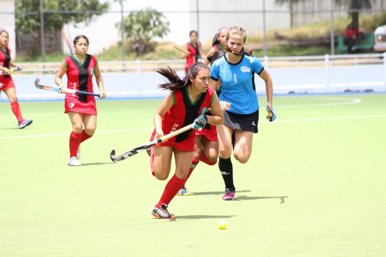 Están listas instalaciones de hockey sobre pasto para la olimpiada nacional y nacional juvenil 2018