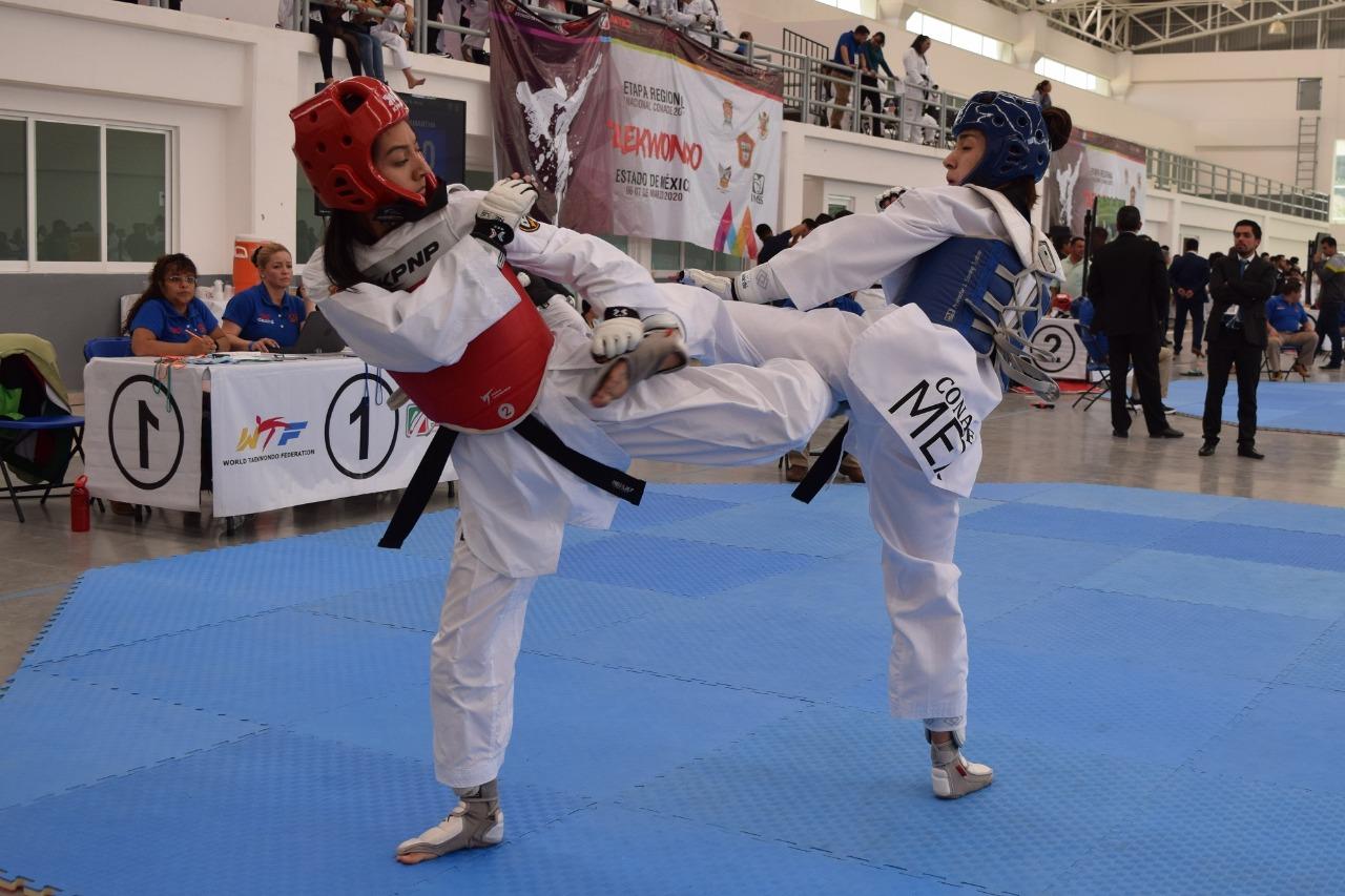 Consiguen 59 taekwondoines mexiquenses su pase a los juegos nacionales conade 2020