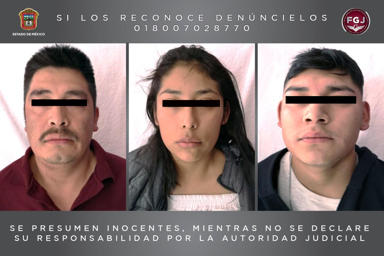 Libera FGJEM a víctima de secuestro y detiene a tres personas en Tlaxcala