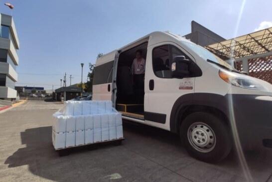 Recibe ISSEMYM donativos para atención de pacientes infectados por covid-19