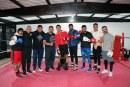 Entrena boxeador Jaime Munguía en el centro ceremonial otomí para debutar en la categoría peso medio