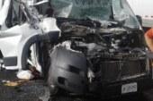 Deja 4 heridos choque en la autopista Toluca-Atlacomulco