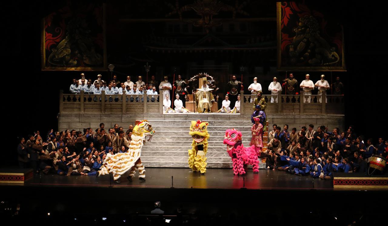 Conquista al público la magia de Turandot