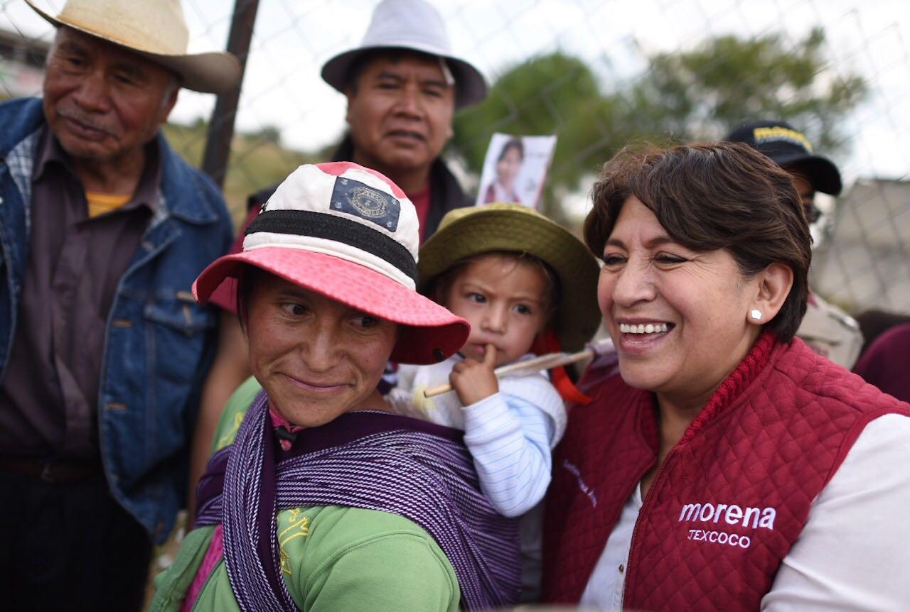 Indignante la intervención de Peña en Edoméx.- Delfina Gómez