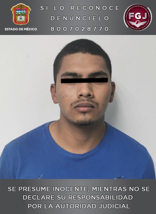 Lo detienen por el feminicidio de una menor de 17 años en Ecatepec