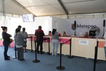 Vecinos de Metepec aprovechan descuentos en pago de contribuciones