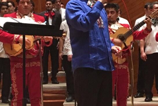 """Presenta coro polifónico colorido concierto de música mexicana en la sala """"Felipe Villanueva"""""""