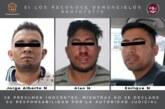 Inician proceso legal contra tres probables homicidas