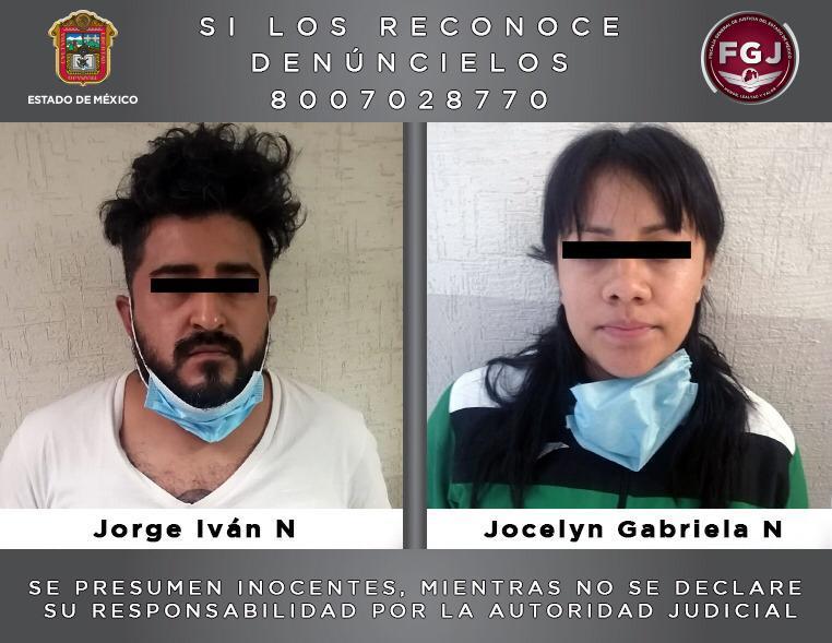 Detiene FGJEM a pareja investigada por el homicidio de tres individuos en Texcoco
