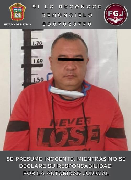 Asegura FGJEM a otro individuo investigado por el robo con violencia a un inmueble de zona esmeralda, en Atizapán