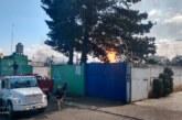 Incendio en una fábrica que operaba con químicos