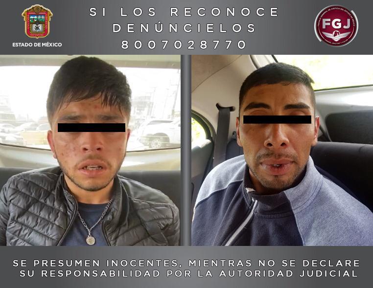 Se dedicaban a robar tiendas OXXO y establecimientos en el valle de Toluca