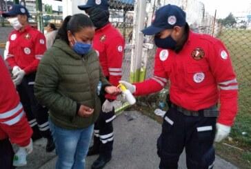 Aplican autoridades de Toluca operativo especial en la Central de Abasto