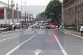 Cierran calles del centro para grabar un documental.