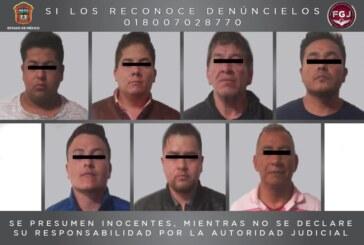 Vinculan a proceso a siete sujetos, cuatro de ellos agentes de investigación de la FGJEM, por secuestro exprés