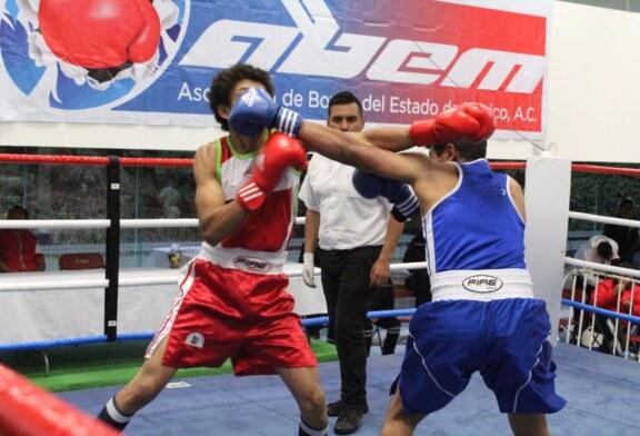 Presentan buen nivel boxeadores mexiquenses que se preparan para el festival olímpico mexicano