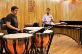 Capacita percusionista de la sinfónica de Indianápolis a estudiantes del conservatorio de música del Edoméx