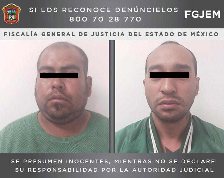 Aprehende fiscalía estatal a dos sujetos investigados por un asalto y homicidio en Chalco
