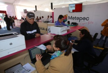 Ofrece Metepec descuentos en pago de impuestos durante los primeros tres meses de 2020