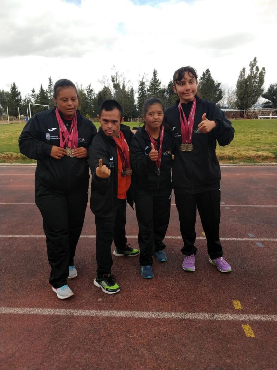 Obtiene Edoméx primer lugar en juegos nacionales de la inclusión y protección al menor con Síndrome de Down y Autismo