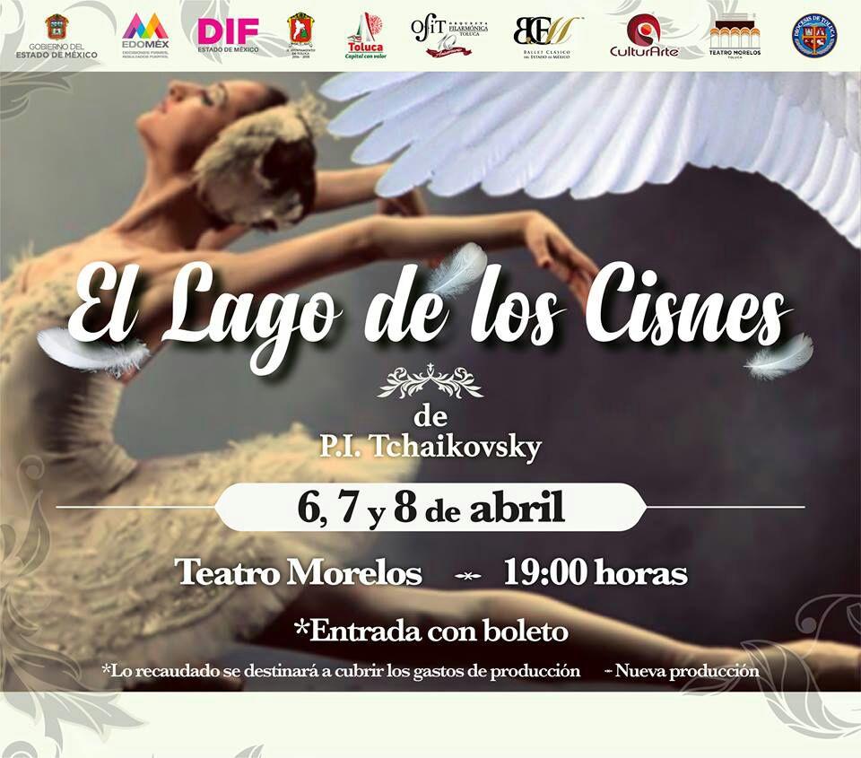 Prepara Toluca espectacular puesta en escena de El Lago de los Cisnes