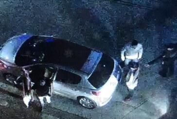 Cerco virtual deriva en la captura de probables responsables de robo de vehículos