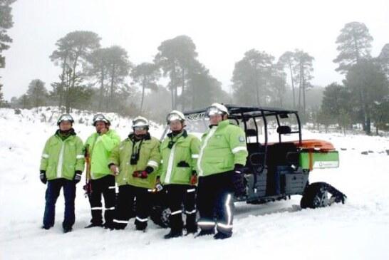 Inicia operativo invernal en el nevado de Toluca