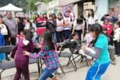 Cruz Roja Estado de México festejó con 300 pequeños el día del niño.