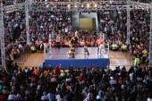 El auditorio metropolitano vivió la emoción de la lucha libre
