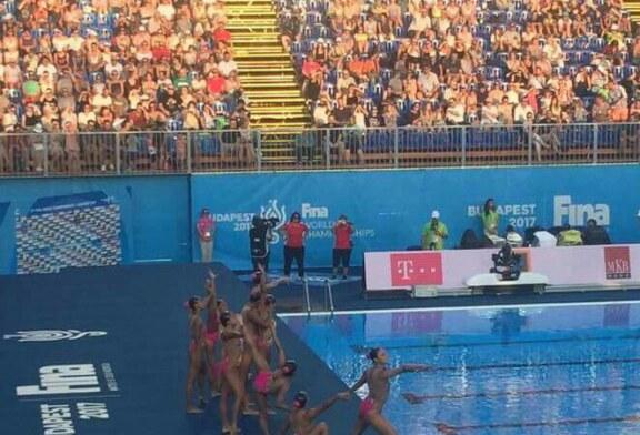 Destacan sirenas UAEM en mundial de natación