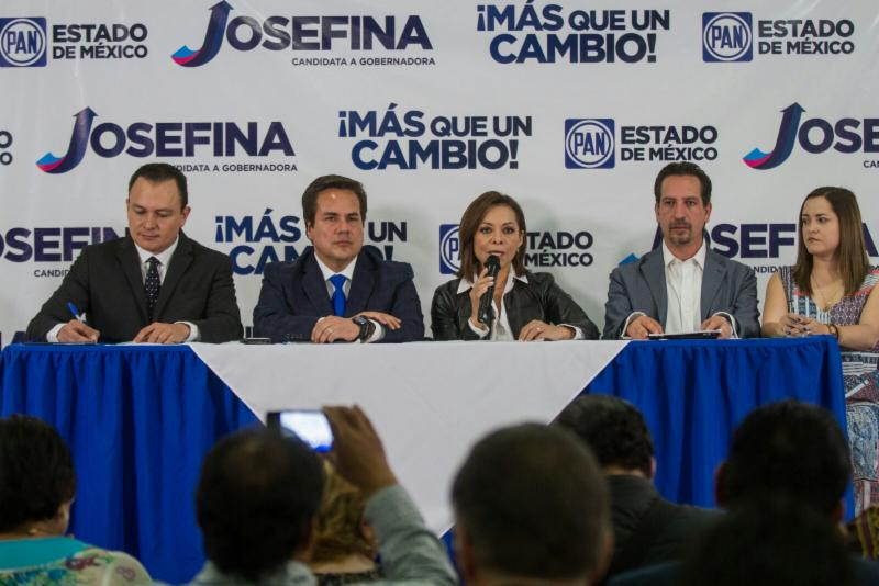 PRI-Gobierno, López Obrador y Alfredo del Mazo deben responder por vínculos con Javier Duarte: Josefina Vázquez Mota
