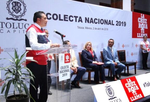 """Arranca Juan Rodolfo Sánchez Gómez colecta nacional 2019 """"La Cruz Roja te llama"""""""