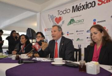 """Anuncian la segunda edición de la carrera """"Todo México Salvando Vidas"""", de Cruz Roja Mexicana"""