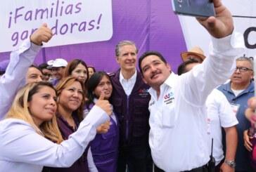 Juntos haremos del Estado de México un lugar seguro para todas las familias: Del Mazo