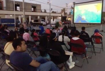 Cine móvil Toto visita 15 comunidades en Festiva Toluca 2019