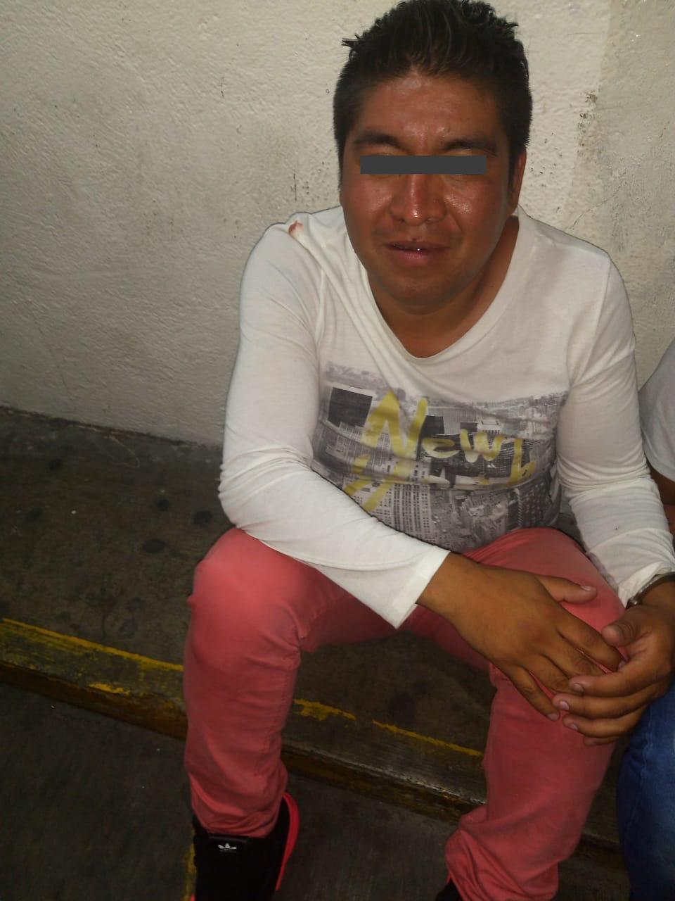 Detiene autoridad de Toluca a presunta banda de carteristas