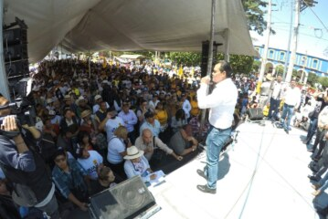 Venimos cambiando la realidad; no prometiendo la esperanza: Juan Zepeda